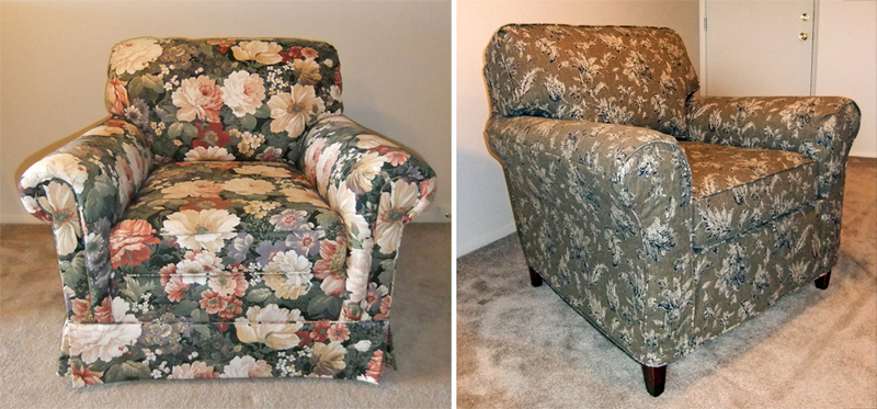Chair Slipcover Makeover Kalmazoo