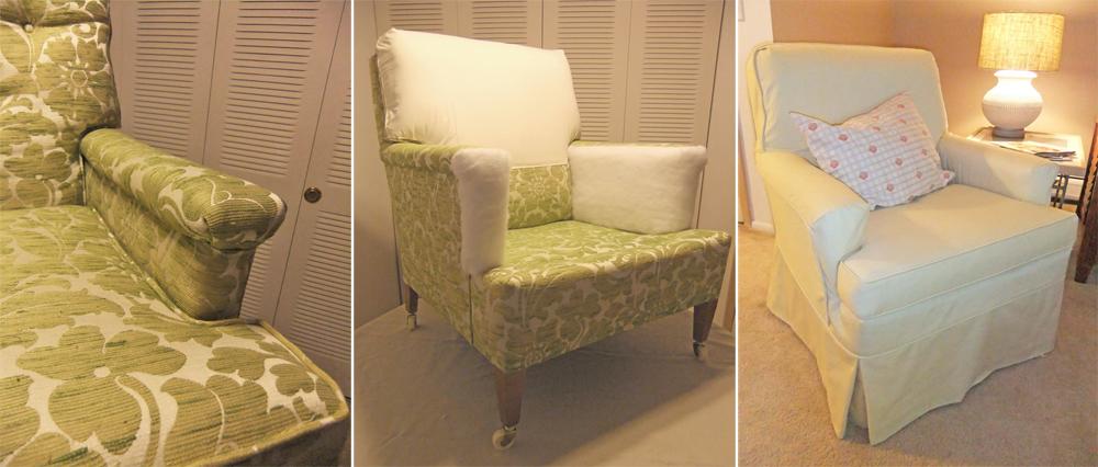 Roz Yellow Slipcover Prep