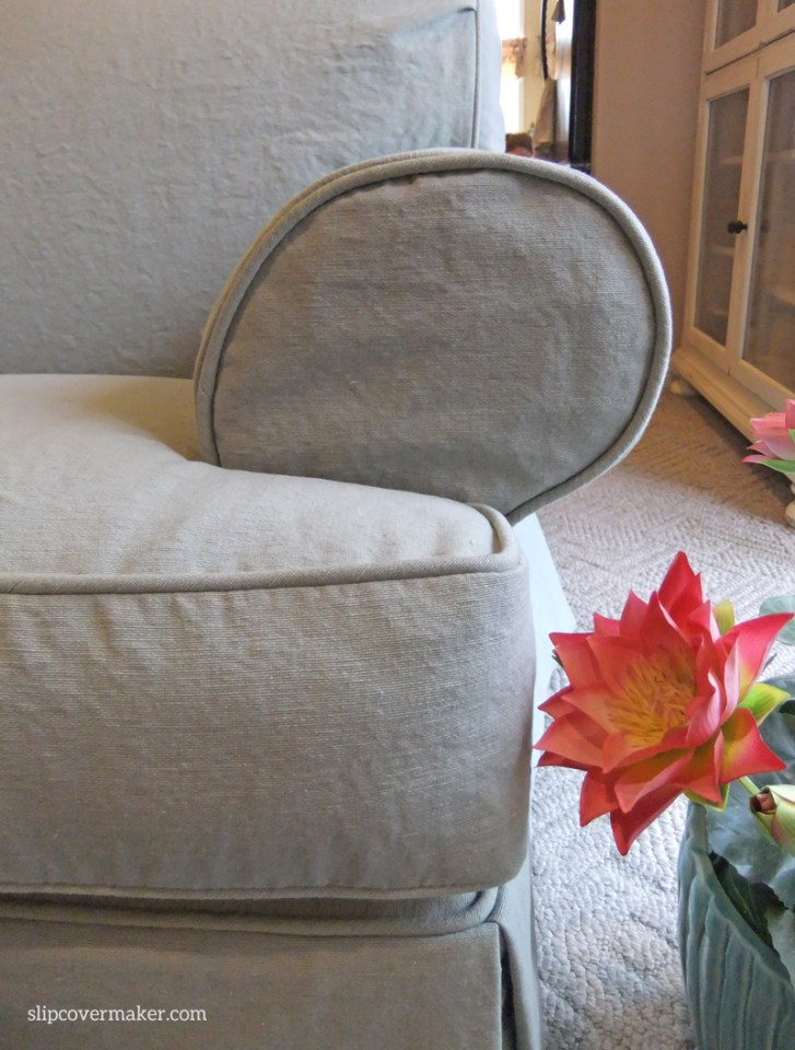 Cotton Poly Slipcover Canvas