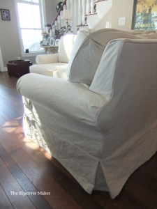 Duck Cloth Sectional Sofa Slipcover