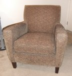 Room & Board Armchair Before Slipcover