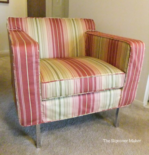 Striped Slipcover for DWR Theater Chair