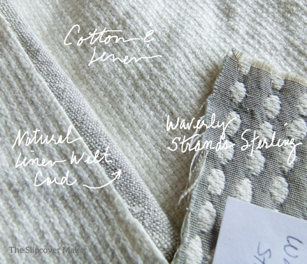 Cotton Linen Fabric for Chair Topper