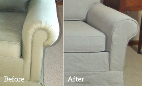 Sofa Slipcover Arm Panel