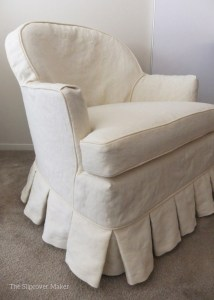 Chair Slipcover Hemp French Linen