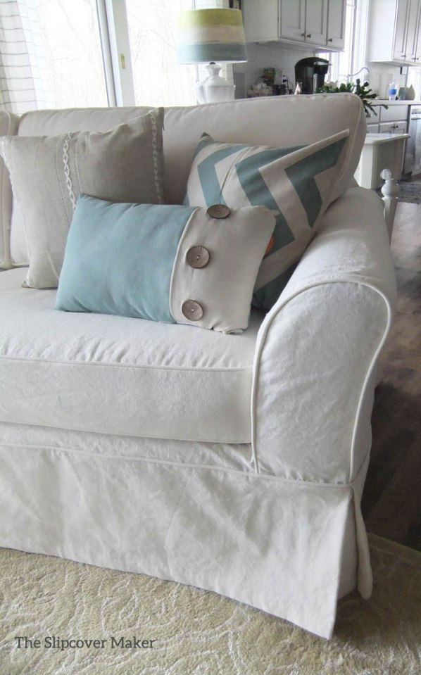 Cot Poly Canvas Sofa Slipcover