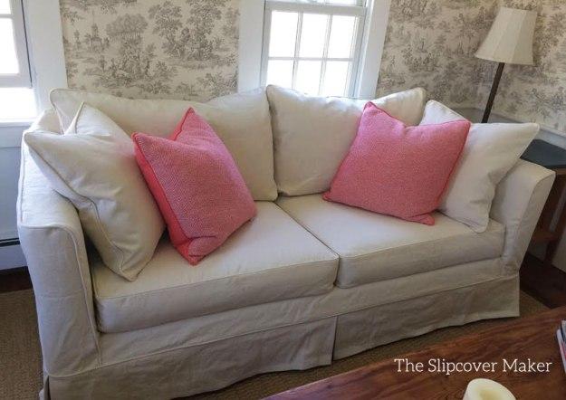 Custom Slipcover Mitchell Gould Sofa