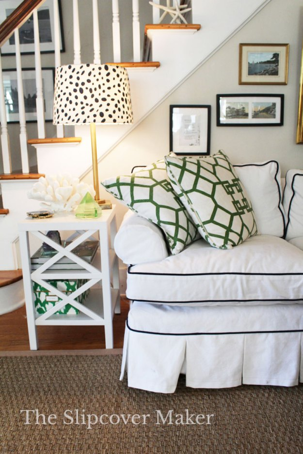 The Slipcover Maker White Denim Favorite