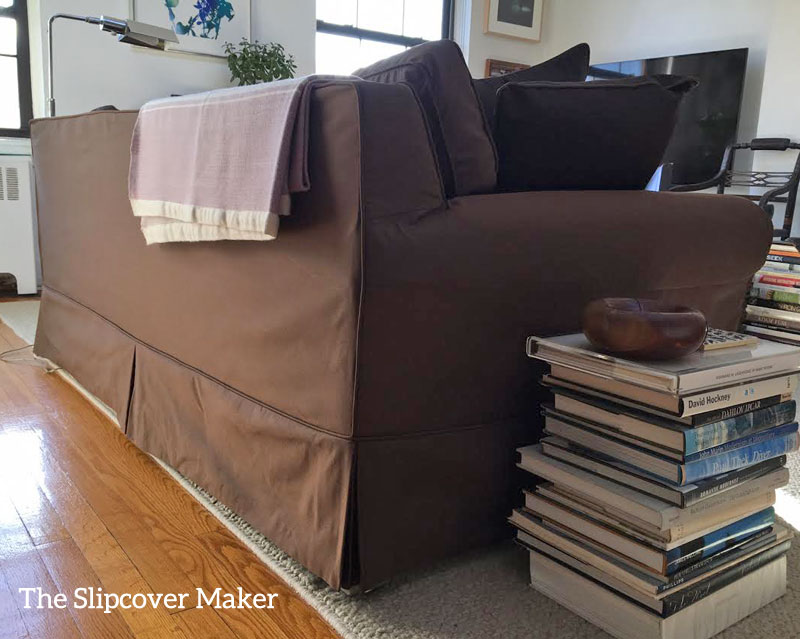Sofa Slipcover Copy in Silk