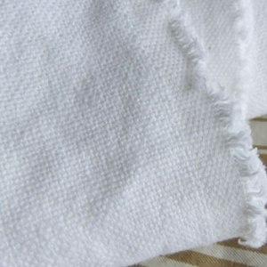 Heavy Weight White Linen