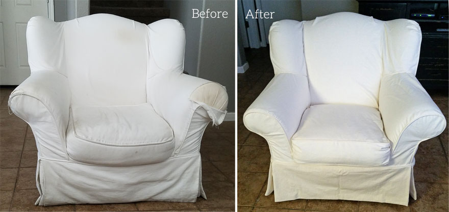 Crate and Barrel Chair Replacement Slipcover