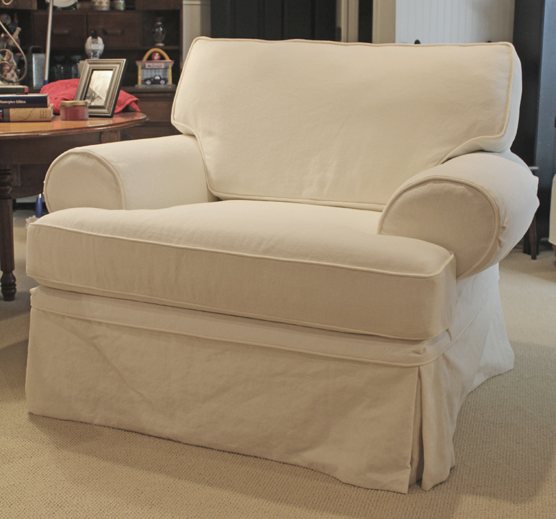 Cotton-Linen Slipcovers for Flexsteel Classics