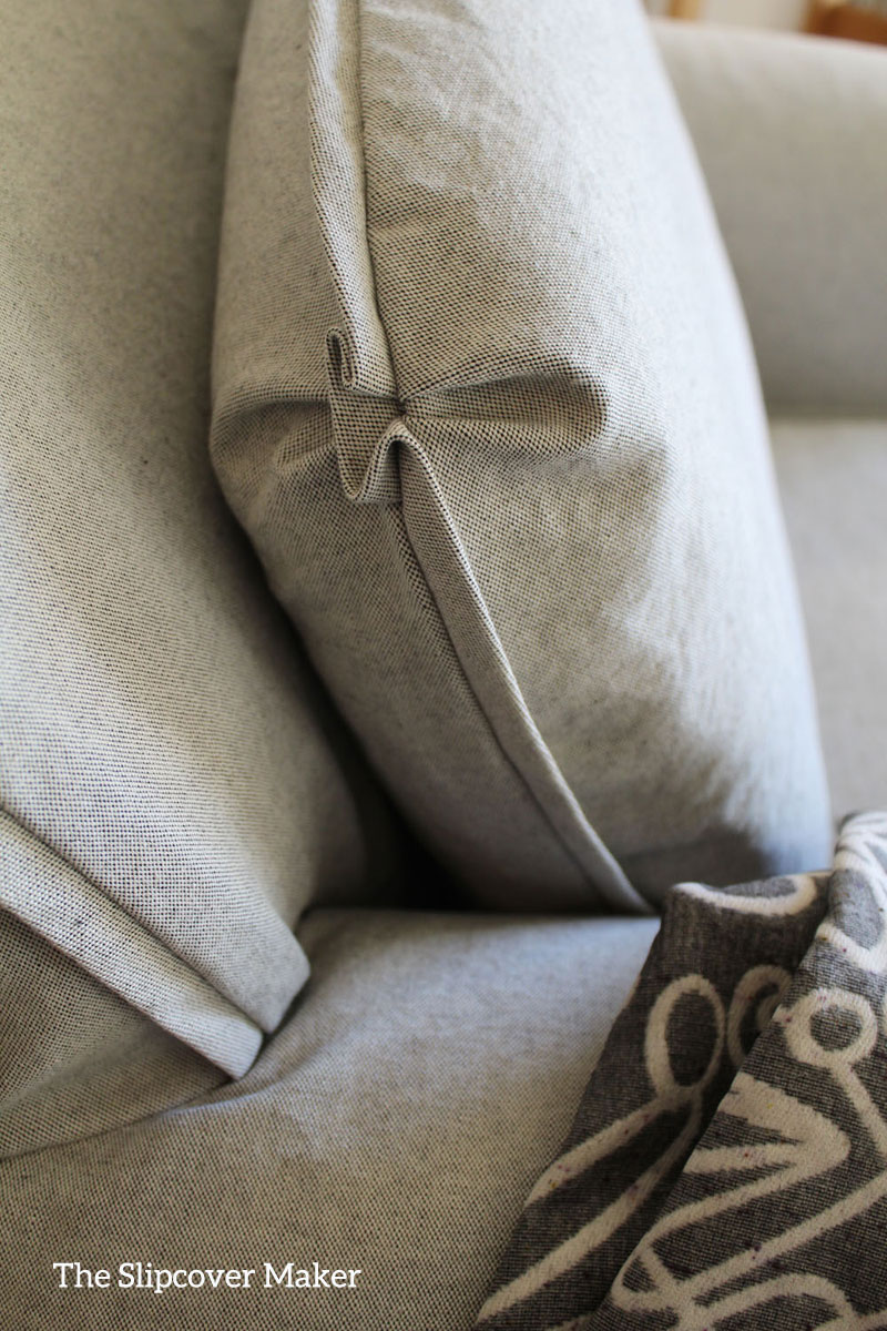 Simple Canvas Slipcover With a Twist