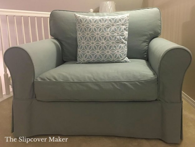 Arhaus Baldwin Cotton Denim Custom Slipcover