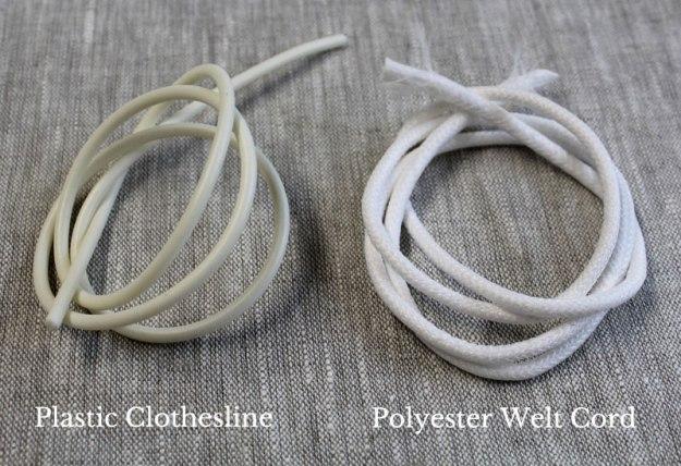 Poly Welt Cord vs Plastic Clothesline