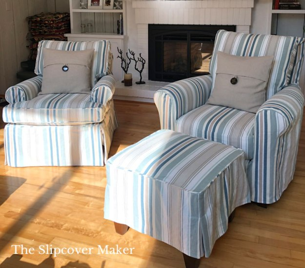 Bridgewater Stripe Replacement Slipcovers