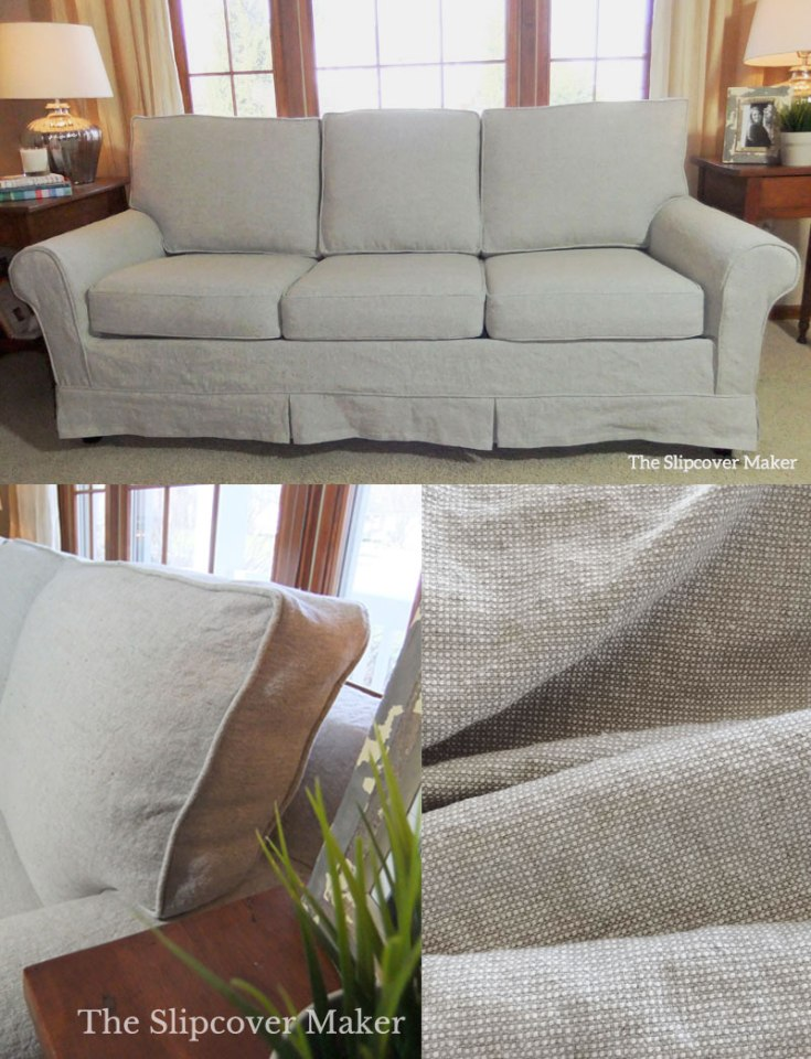 Sleeper Sofa Linen Slipcover