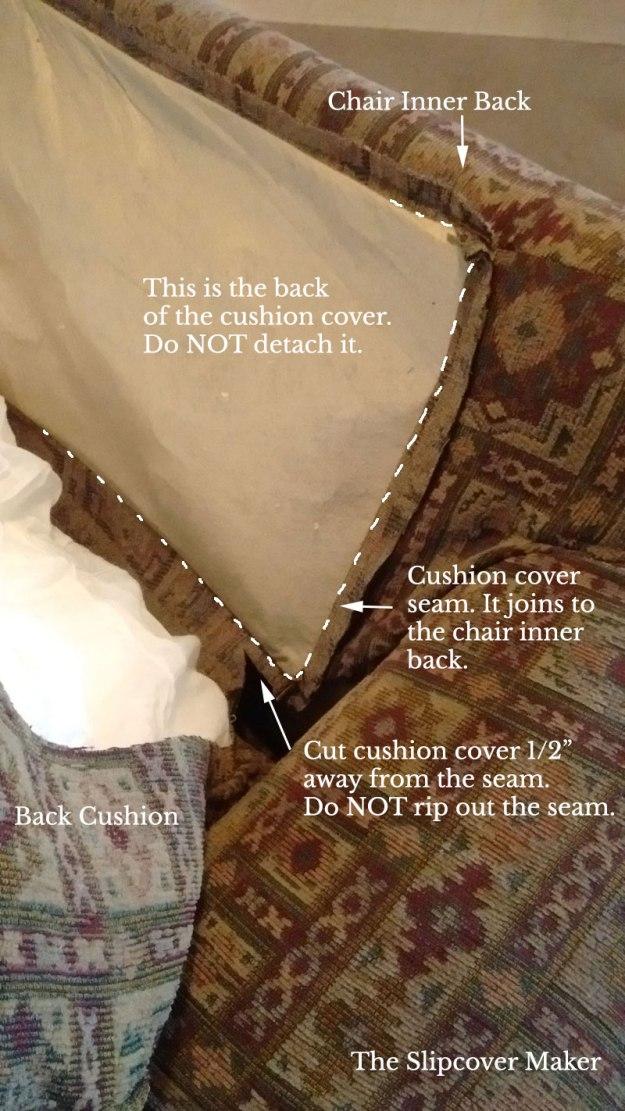 Tips for Detaching Chair Cushion