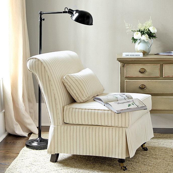 Ballard Designs Leyland Slipcover Chair
