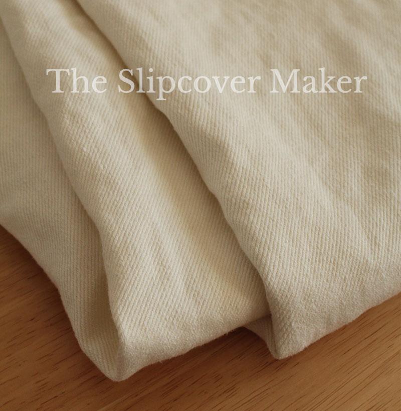 Natural Hemp Twill for Slipcovers
