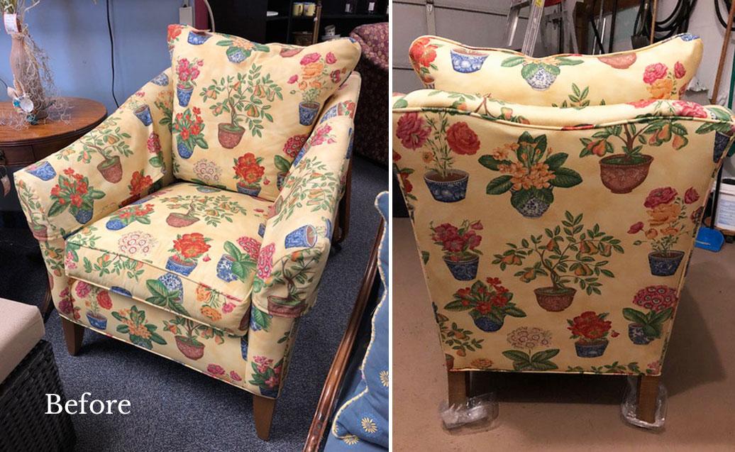 Vintage Ethan Allen Chair
