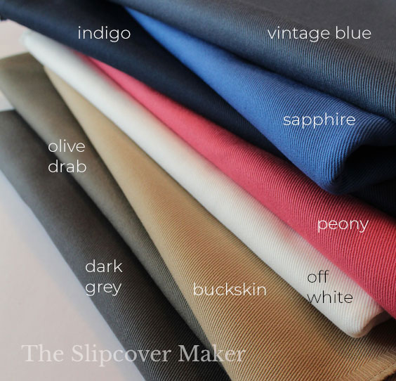 The Slipcover Maker's Favorite Denim