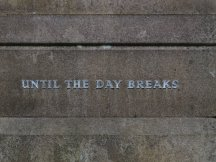 UNTIL THE DAY BREAKS