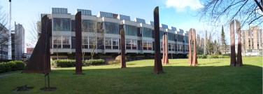 Strathclyde uni Steel statues
