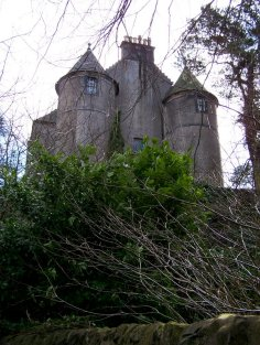 Bedlay castle Chryston a few miles to the east of Glasgow
