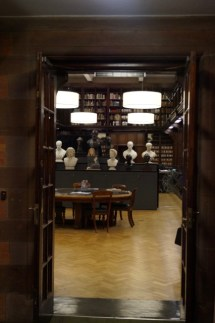 This wonderful old library is tucked away in a corner