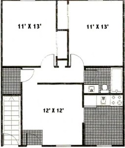 Pine Glenn Apartments Floor Plan 1