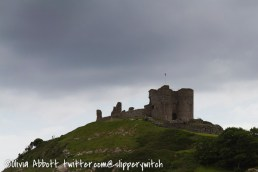 Criccieth Castle on the way home