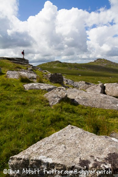 Looking across to Rough Tor