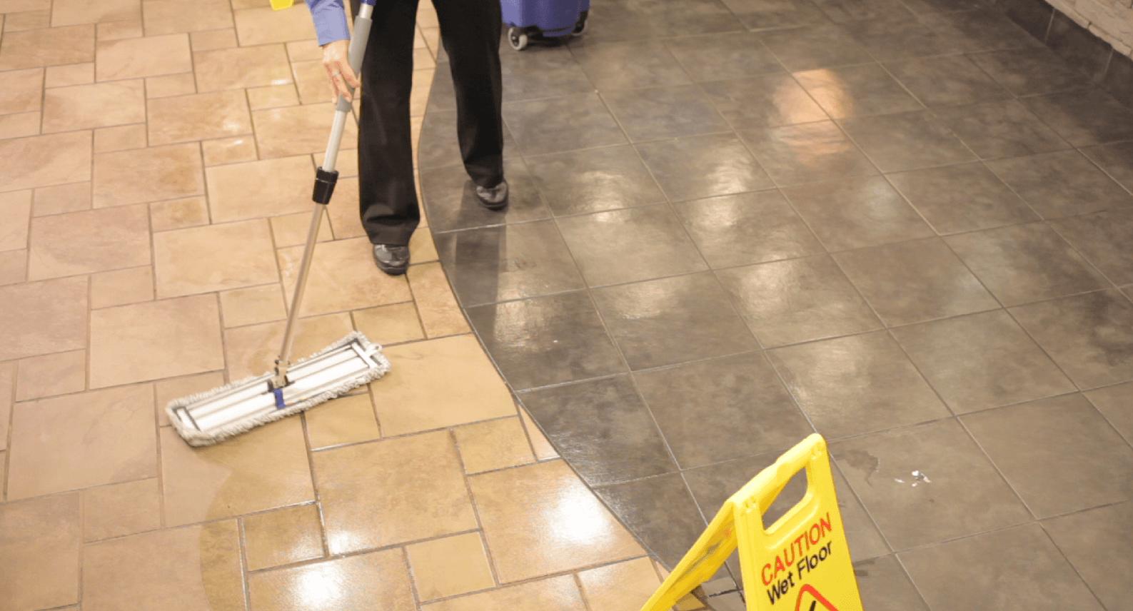 5 tips to prevent slippery floors in