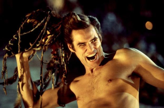 ACE VENTURA: WHEN NATURE CALLS, Jim Carrey, 1995. ©Warner Brothers