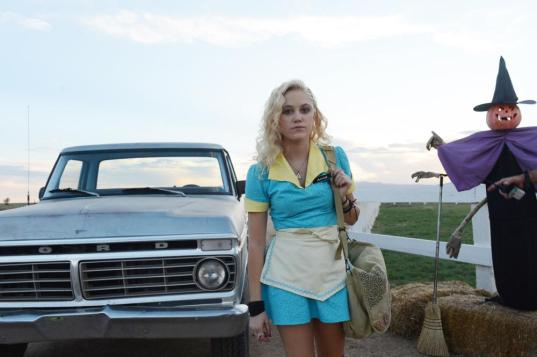THE GUEST, Maika Monroe, 2014. ph: Ursula Coyote