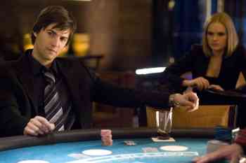"""Ben Campbell (Jim Sturgess, left) is recruited by Jill Taylor (Kate Bosworth, right) to join M.I.T.Õs blackjack team Ð a group of students that uses smarts and skills to take Vegas for millions Ð in Columbia PicturesÕ 21. Directed by Robert Luketic, the screenplay is by Peter Steinfeld and Allan Loeb, based upon the book """"Bringing Down the House"""" by Ben Mezrich. The producers are Dana Brunetti, Kevin Spacey, and Michael De Luca. The film opens in theaters nationwide on March 28, 2008."""