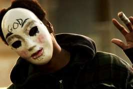 """This image released by Universal Pictures shows a scene from """"The Purge: Anarchy."""" (AP Photo/Universal Pictures)"""