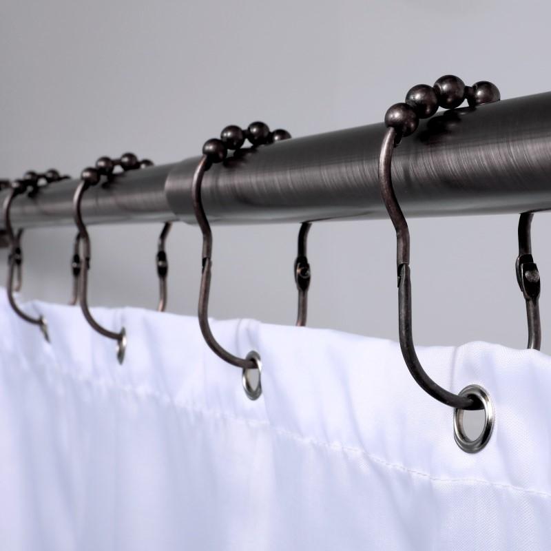 easy roller shower rings