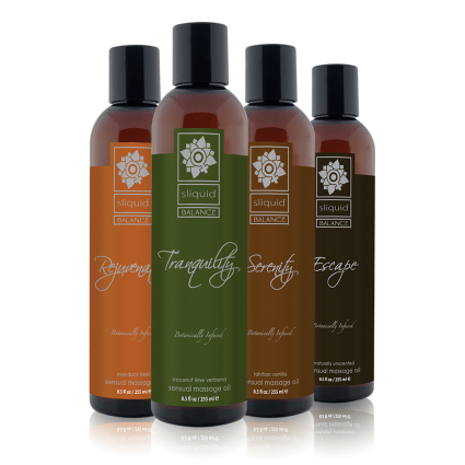 Massage Oils - Natural Massage Oil - Sliquid Balance