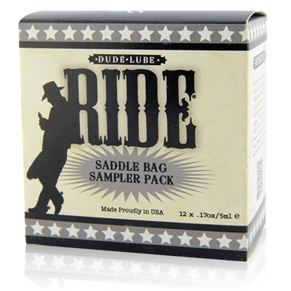 Saddle Bag Cube - Ride Dude Lube - Sliquid