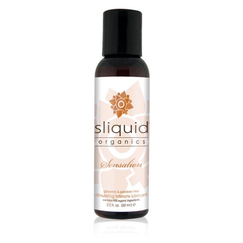 Sliquid - Sliquid Organics - Sensation - Organic Stimulating Lube - 2oz