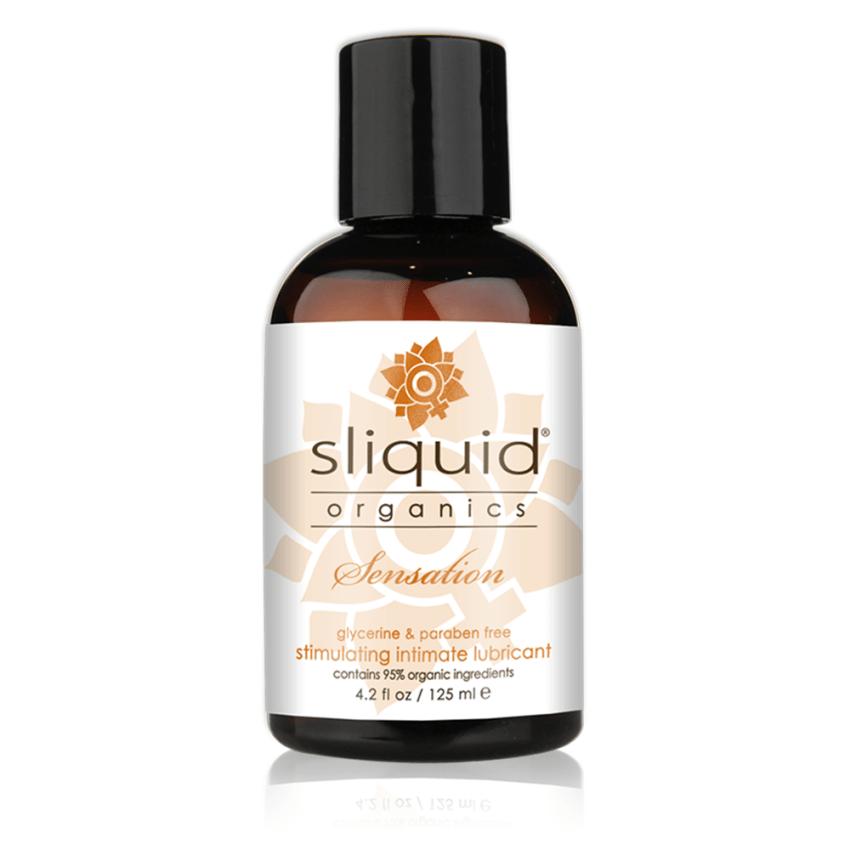 Sliquid - Sliquid Organics - Sensation - Organic Stimulating Lube - 4oz