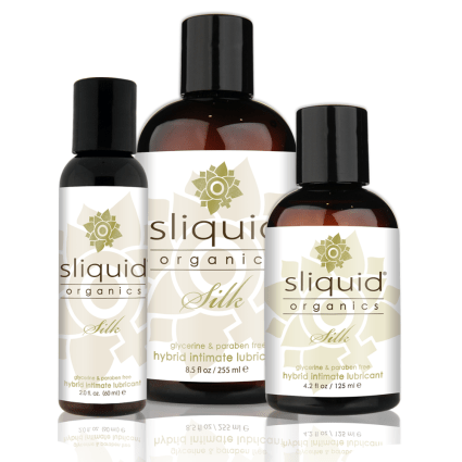 Organic Hybrid Lube - Sliquid - Sliquid Organics - Group Picture