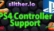 Slither.io PS4 Controller Support