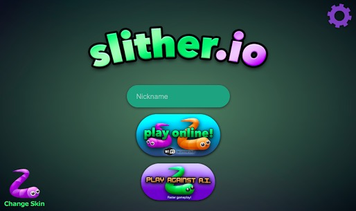 Slither.io Homepage