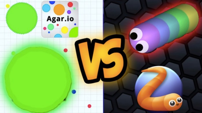 The Search Queries of Slither.io and Agar.io