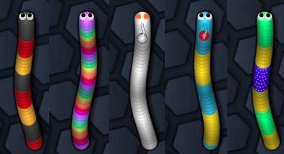 Mobile Game Slither.io
