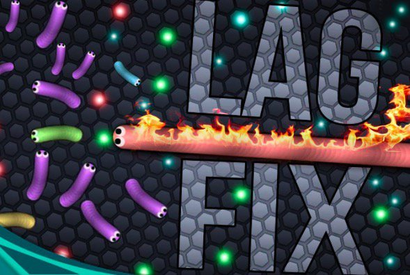why does slither io lag so much