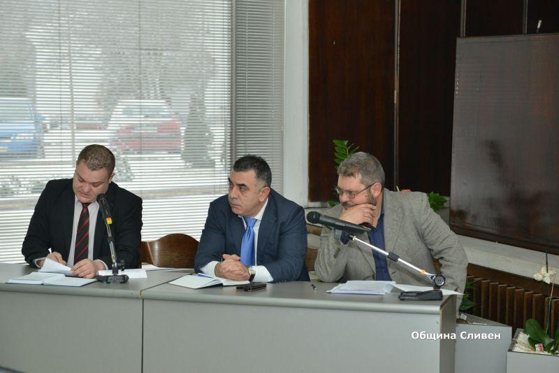 Кметът Стефан Радев: Проектобюджетът е поредната стъпка към финансова стабилност на община Сливен
